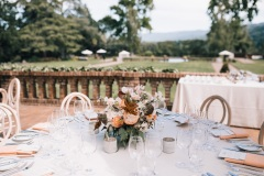 Bright Events Rentals  | La Tavola Fine Linen | MC Morgan Photography | J Floral Art and Morgan Woodside Wedding